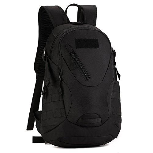redmid 20 L tactique sac à dos sac à dos d'Assaut Militaire Sac à dos EK207 Sac Casual pour la chasse, Noir