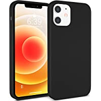 Atuat 6.1 Inch Silky Soft Liquid Case for iPhone 12 and iPhone 12 Pro
