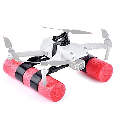 Float Landing Gear for DJI Mavic AIR 2, Waterproof Scratch-Proof Anti-Skid Expansion Holder Floating Kit for DJI Mavic AIR 2 Drone Landing on Water