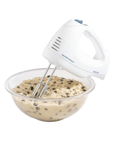 Hamilton Beach 62682RZ Hand Mixer with Snap-On Case, White...