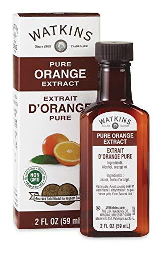 Watkins Pure Orange Extract, 2 oz. Bottles, Pack of 6 (Packaging May Vary)