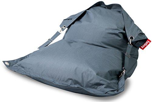 Fatboy Buggle-Up Outdoor Beanbag | Le Pouf polyvalentI Banquette et Pouf en Un | 180 x 140 cm | Polyester I Résistant aux UV, à l'eau et aux salissures I Bleu
