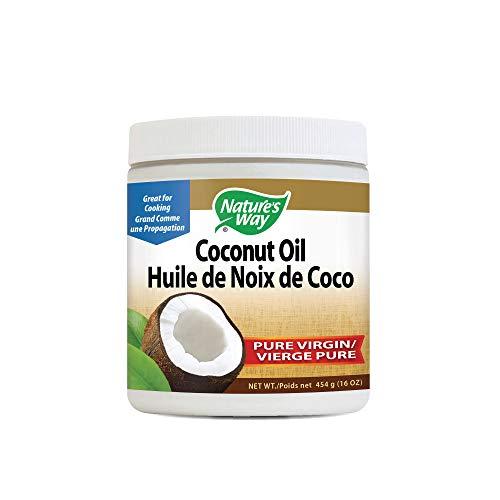Nature's Way Organic Extra Virgin Coconut Oil- Pure, Cold-pressed, Organic, Non-GMO,...