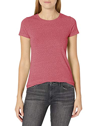 Marky G Apparel Women's Short-Sleeve T-Shirt, RED Triblend, S