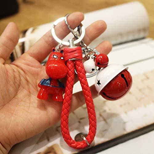 Schlüsselbund Cartoon Hero Charakter Coole Schlüsselanhänger Cute Pet Autoschlüsselhalter Student Bag Anhänger Schlüsselanhänger