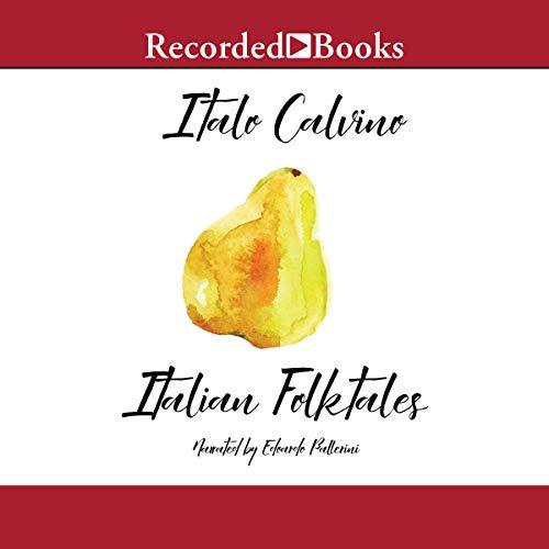Italian Folktales audiobook cover art