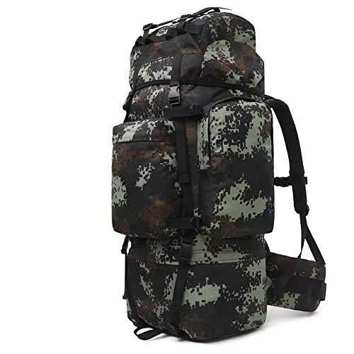 Armee-Rucksack für Herren, taktischer Rucksack, 70 l, hohe Kapazität, verschlüsseltes Oxford-Gewebe, für Bergsteigen, Militär, Reisen, Motorrad Gr. Einheitsgröße, Stil10