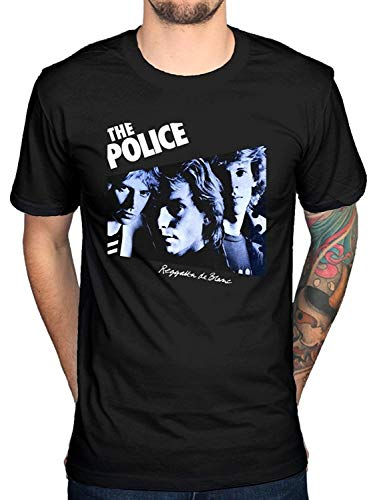The Police Regatta T-shirt Sting De Blanc Synchronicity Band Men's Fashion T-Shirt