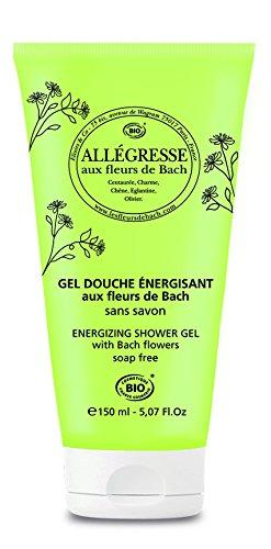 Elixirs & Co - Gel Douche aux Fleurs de Bach - Bio - Allégresse - Gel Douche Energisant - Soins du Corps Naturels - Bien-être - 100% Naturell - Made in France - 150ml