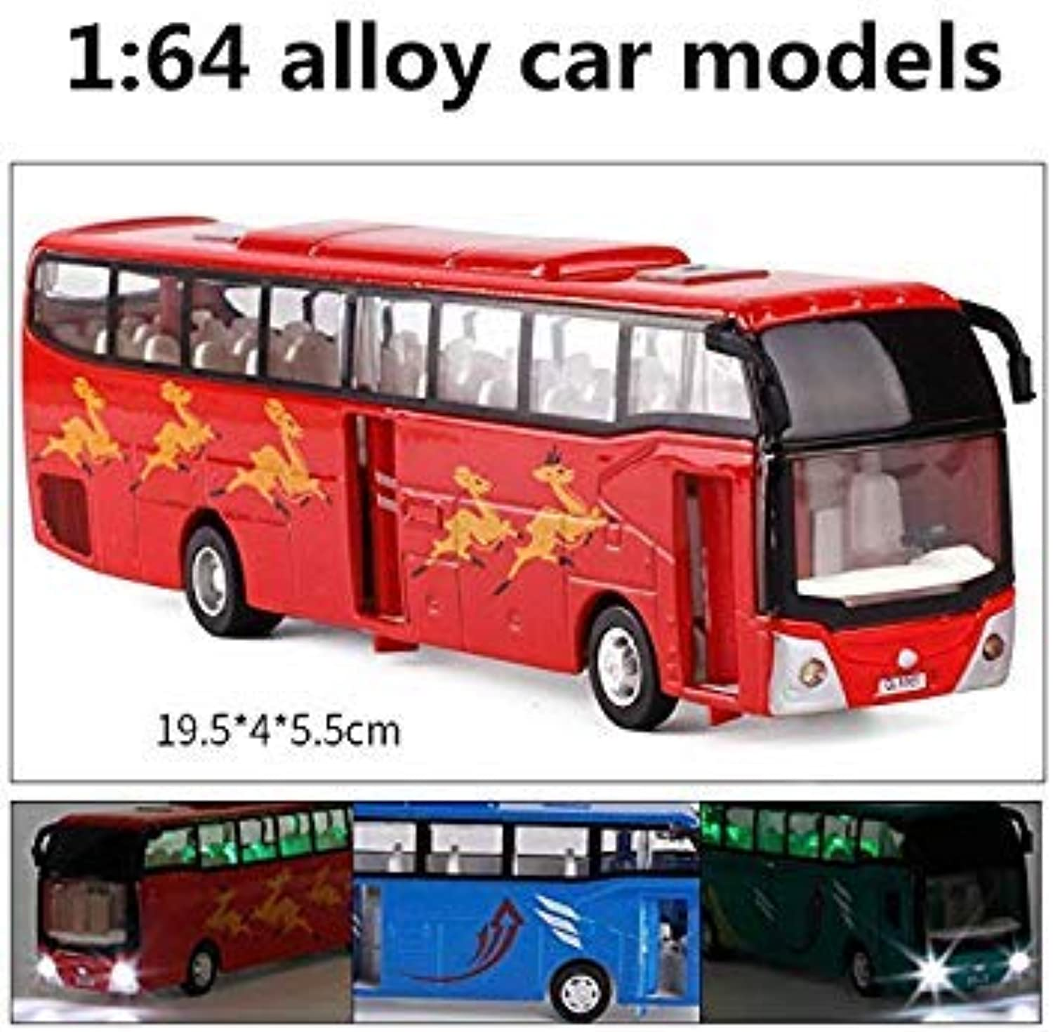 1 64 Alloy car Models,high Simulation Tour Bus Model,Toy Model,Toy