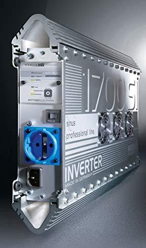 Büttner Sinus Wechselrichter MT 1700 SI inkl. Verlängerungskabel