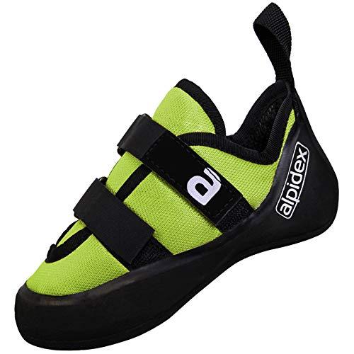 ALPIDEX Kletterschuh Kletterschuhe für Kinder Kinderkletterschuhe Größe 28-35, Größe:34 EU