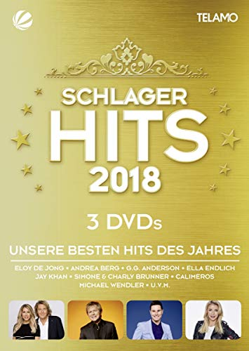 Schlager Hits 2018 [3 DVDs]