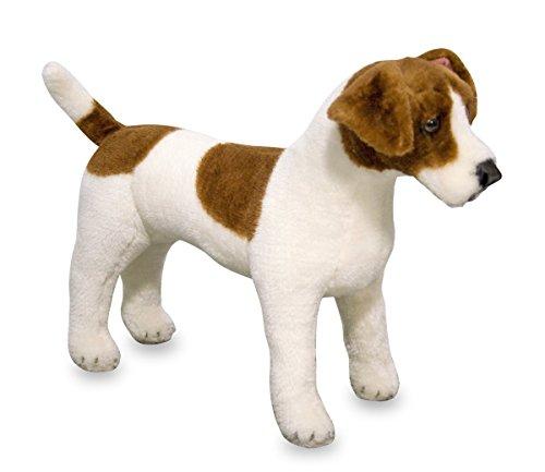 Melissa&Doug Jack Russell Terrier – Plüsch | weiches Spielzeug | Tier | alle Altersgruppen | Geschenk für Jungen oder Mädchen