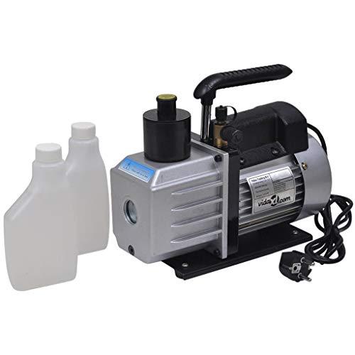 Zora Walter 2-Stufige Vakuumpumpe Alu-Kompressor Mit Aluminiumgeh?use,praktischen ?lschauglas 50 L/Min