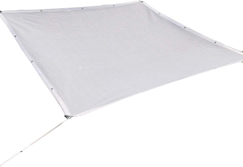 LIANGLIANG Sichtschutznetz Sonnensegel Schattierung Multifunktion Schwimmbad Sonnencreme Abkühlen Staubdicht Verschlüsselung 8 Stiche, Wei, 23 Gren (Farbe   Wei, gre   4x10m)