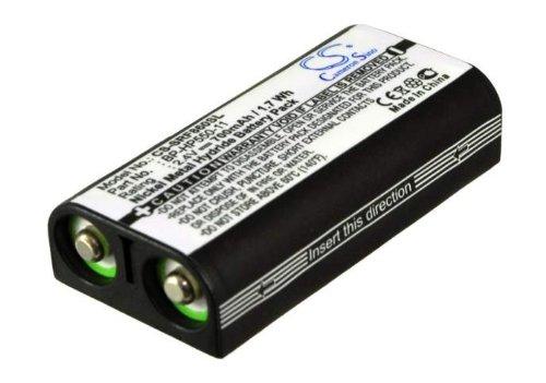 CS Akku 700mAh / 1.7Wh 2.4V ersetzt Sony BP-HP550-11 / passend für Sony MDR-RF860, MDR-RF4000, MDR-RF970, MDR-RF970RK, MDR-RF925, MDR-RF925RK, MDR-RF4000K, MDR-RF860RK, MDR-RF850, MDR-RF850RK, MDR-RF840, MDR-RF840RK, MDR-RF810, MDR-RF810RK