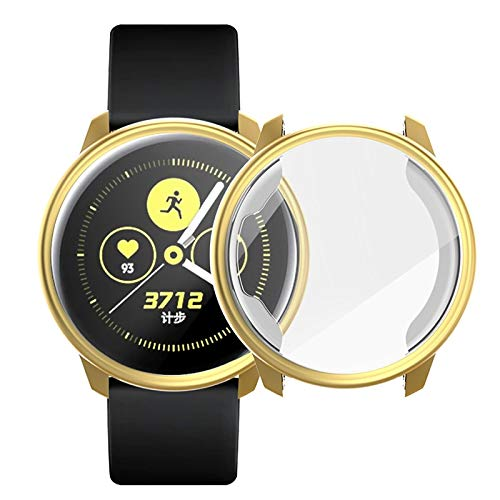 PANGTOU Funda protectora de TPU para Samsung Active Watch de cobertura completa.