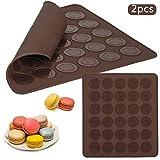 Juego de 25 moldes de silicona para magdalenas galletas Moldes reutilizables de silicona para hielo chocolate by ARTUROLUDWIG para Hornear tartas