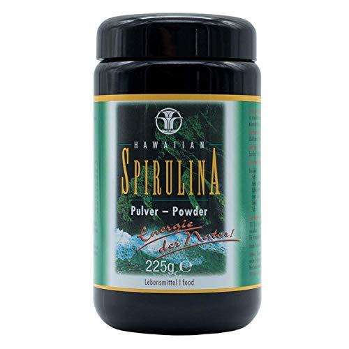 Spirulina - Original Hawaiian Spirulina Pulver 225 g im Violettglas I Spirulina Hawaii I hawaianische Spirulina getrocknet I Spirulina Algen