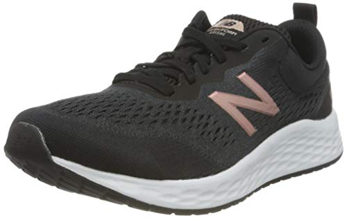 New Balance Fresh Foam Arishi V3, Zapatillas Mujer, Negro (Black/White/Rose Gold), 40 EU