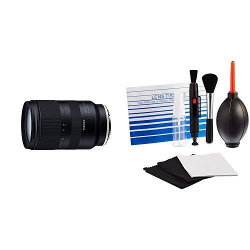 Tamron A036SF 28-75 mm F/2.8 Di III RXD-Autofokus – ideal für Videoaufnahmen AmazonBasics - Reinigungsset für DSLR-Kameras und empfindliche elektronische Geräte