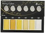 Kuretake Cambios de SC/6V Acuarelas Set, Color Agua, 19,6x 7x 1,6cm