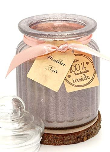 Lilygardencandles Drakkar Noir - Vela aromática (cristal, 100% cera de soja, 52 horas de tiempo de combustión, misteriosamente picante y misteriosa)