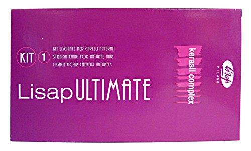 Lisaplex Tratamiento de Alisado Permanente para Cabellos Naturales - 250 ml