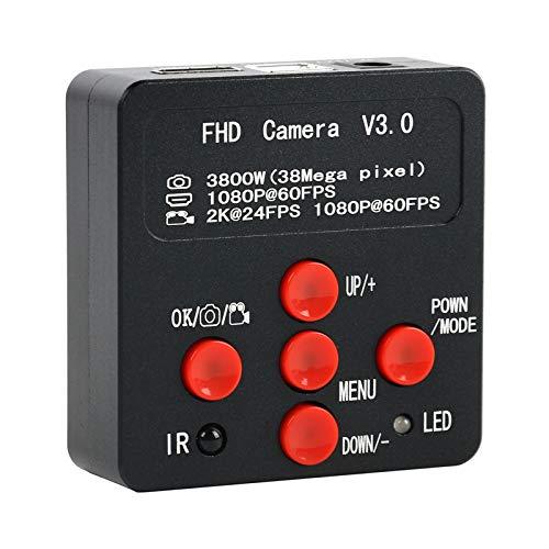 /G 38MP 1080P / 2K USB HDMI Cámara de microscopio de Video Industrial Digital C Mount Cámara para teléfono SMD CPU Reparación de PCB Soldadura