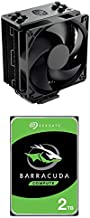 Cooler Master Hyper 212 Black Edition CPU Air Coolor & Seagate Barracuda 2TB Internal Hard Drive HDD – 3.5 Inch SATA 6Gb/s 7200 RPM 256MB Cache 3.5-Inch – Frustration Free Packaging (ST2000DM008)