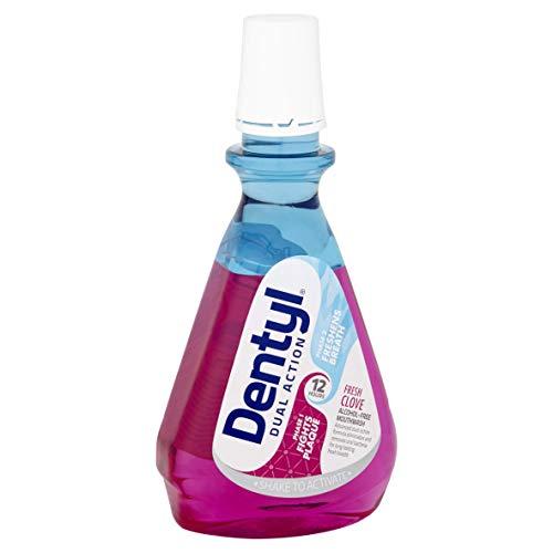 Dentyl Dual Action Fresh Clove Mouthwash, 500 ml