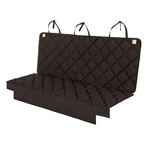 HAVE A SEAT | stoelbeschermer, autostoelbeschermer voor VW Bus, T5, T6, T7, Multivan, Isofix stoelbeschermer hondendeken, kinderen, zitkussen tot 95 °C wasbaar, geschikt voor de droger 3-Sitz (Rückbank) bruin