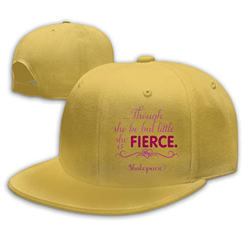 SOOPTY Though She Be But Little She is Fierce Adjustable Cotton Baseball Cap
