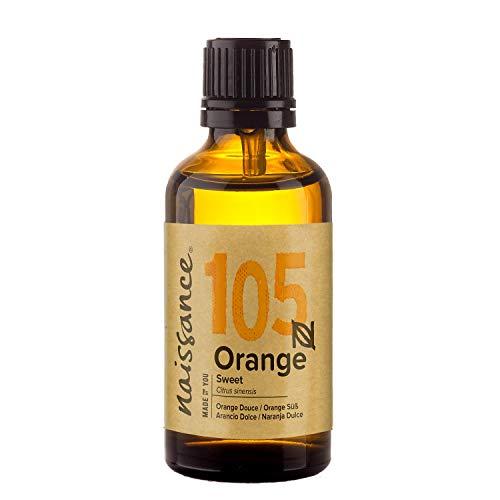 Naissance Huile Essentielle d'Orange Douce (n° 105) - 50ml - 100% pure, naturelle et distillée à la vapeur – végan et non testée sur les animaux