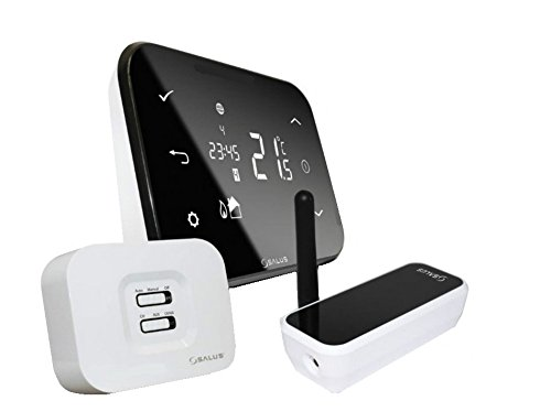 SALUS iT500 Thermostat intelligent par internet programmable par téléphones Androïd