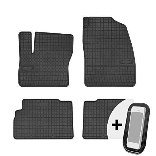 moto-MOLTICO Gummimatten Auto Fußmatten Gummi Automatten Passgenau 4-teilig Set - passend für Ford C-Max 2011-2018