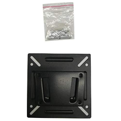 Pequeño Pilón LCD Soporte para TV de 14-32 Pulgadas Soporte Universal para Montaje en Pared Soporte para TV Negro