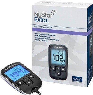 MYSTAR Extra Blutzuckermessgerät Set mmol/l 1 St