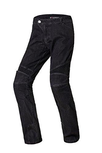 Nerve Ranger Herren Motorrad Jeans Hose, Schwarz, XL