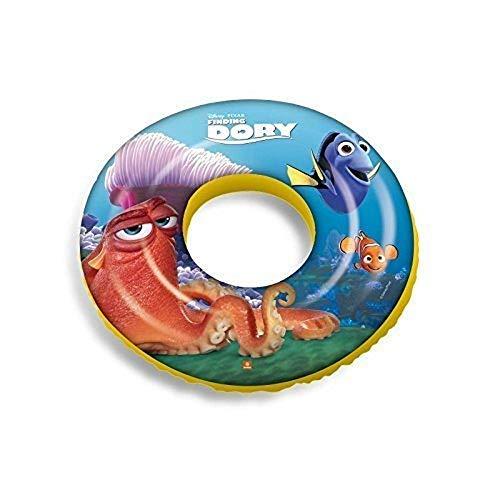 Bavaria Home Style Collection kompatibel mit Dory - Finding Dory - Fidet Dorie - Schwimmring Schwimm Ring aufgeblasen ca. 50 cm Durchmesser PVC Folie ca. 0,20 mm super Schwimmspass Kinder Spass