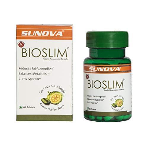 Sunova Bioslim (Garcinia Cambogia Extract and Green Coffee Bean Extract) - 60 Tablets