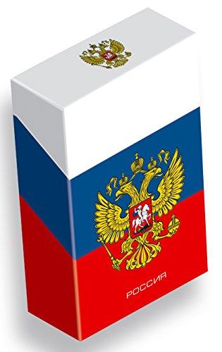 slipp overall - Zigarettenschachtel-Überzieher mit Deckel - Ländermotive (111 Russland, 1 Stück)