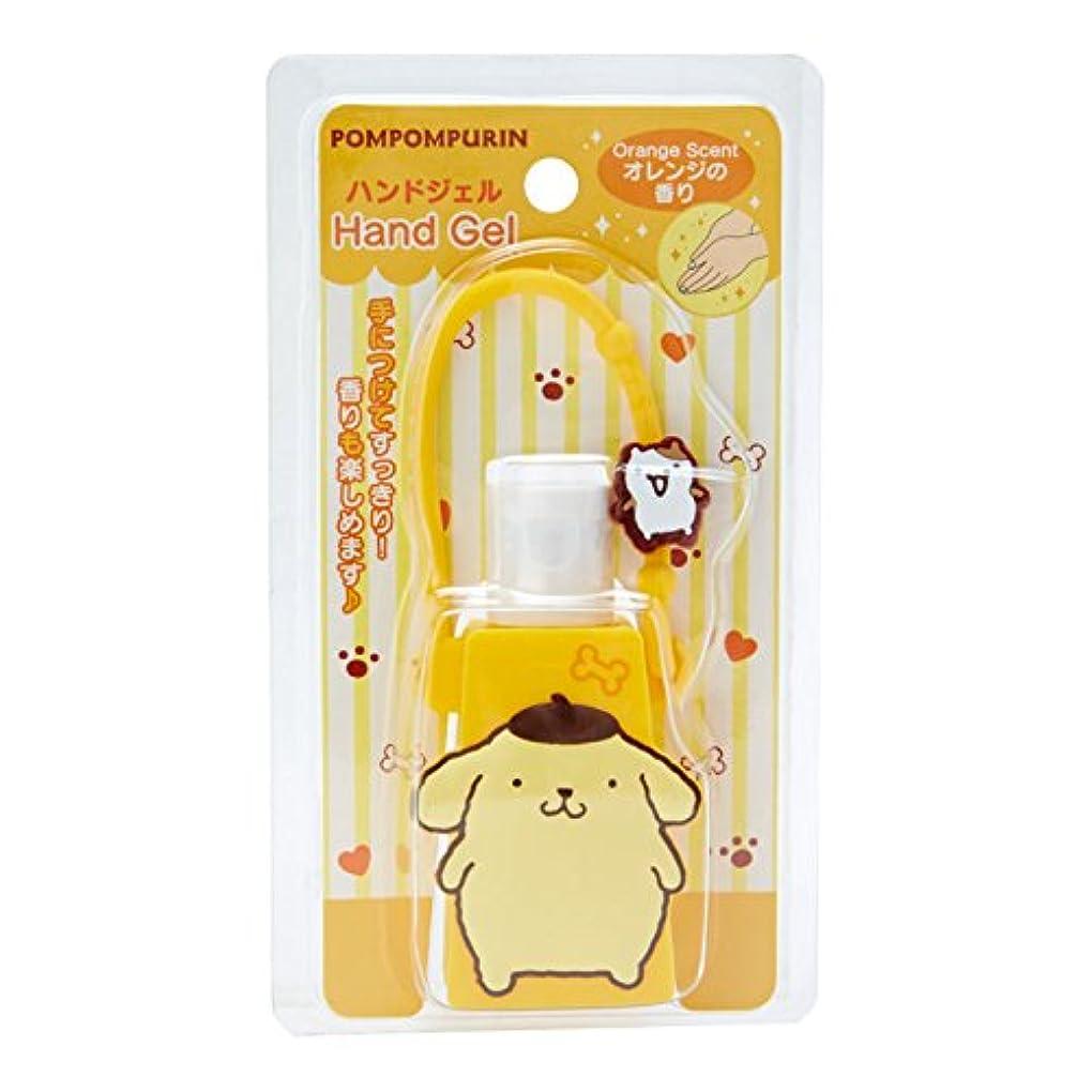 かかわらずリハーサル電極ポムポムプリン 携帯ハンドジェル(オレンジの香り)