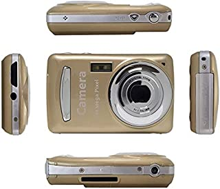 FairOnly Mini Children Digital Camera Video Camcorder 720P HD 4 X Zoom Video Camera with 2.4 inch TFT LCD Screen Gold