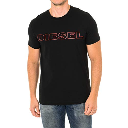 Diesel UMLT-JAKE, Camiseta para Hombre, Negro (Black 900/0darx), L