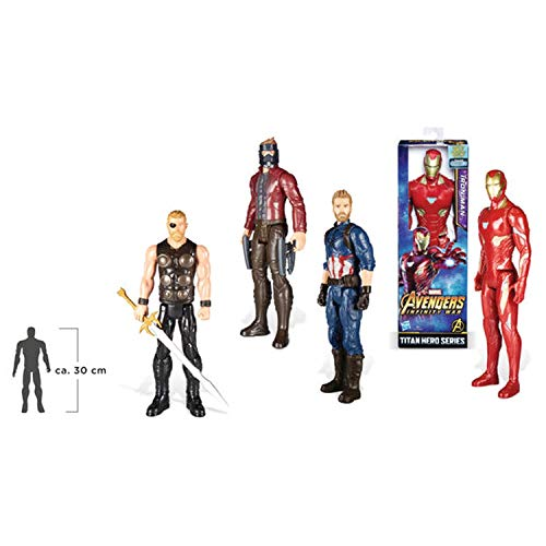 Marvel Avengers- Titan Hero Series (Hasbro Assorted Model 1 E0570EU4 Unit)