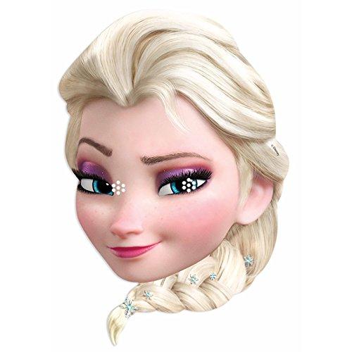 STAR CUTOUTS - Stsm168 - Masque pour Adulte Elsa - Reine des Neiges