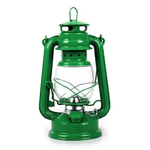 foshan Cgration Retro Classic - Lámpara de queroseno regulable con mecha portátil, decoración de luz de camping