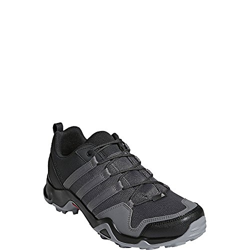 adidas outdoor Mens Terrex AX2R Shoe (10 - Carbon/Grey Four/Solar Slime)